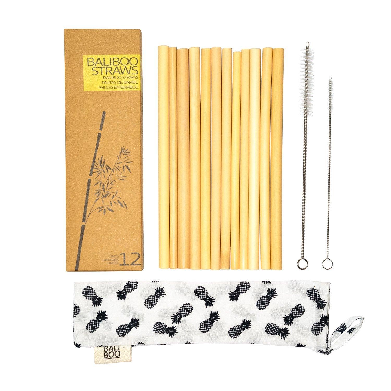 Bild zu Favoriten - Bambus Trinkhalme
