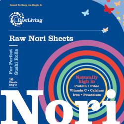 Bild zu Favoriten Lebensmittel - Rohe Nori-Blätter - 10 Stück