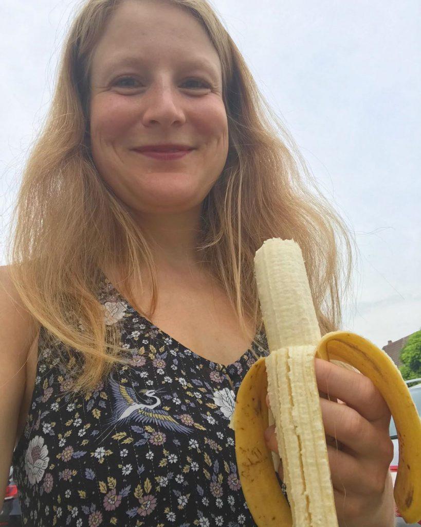 Bild zu Rohvegan auf einer Hochzeit - Banane