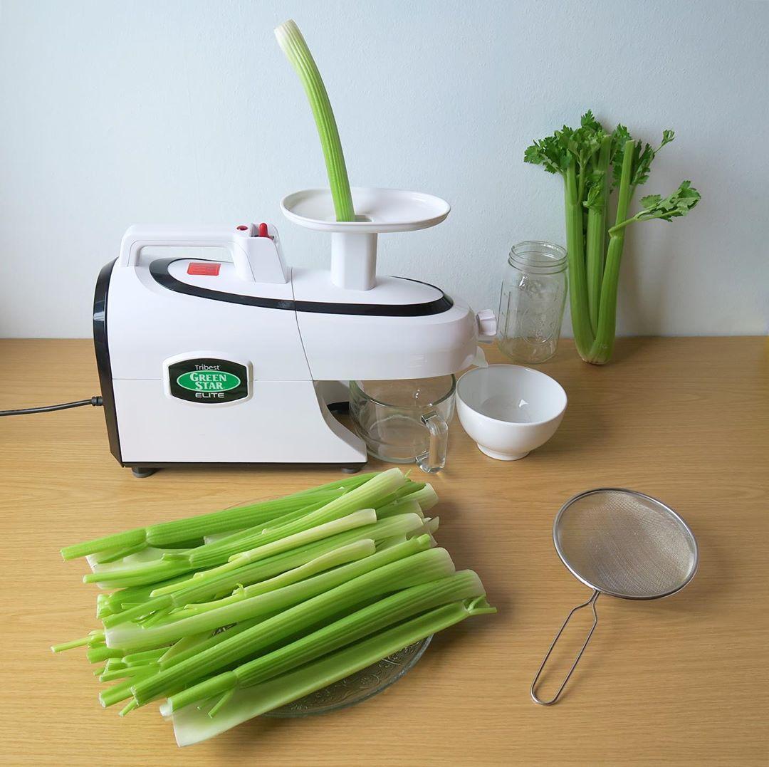 Bild zu Selleriesaft - Zubereitung mit einem Entsafter