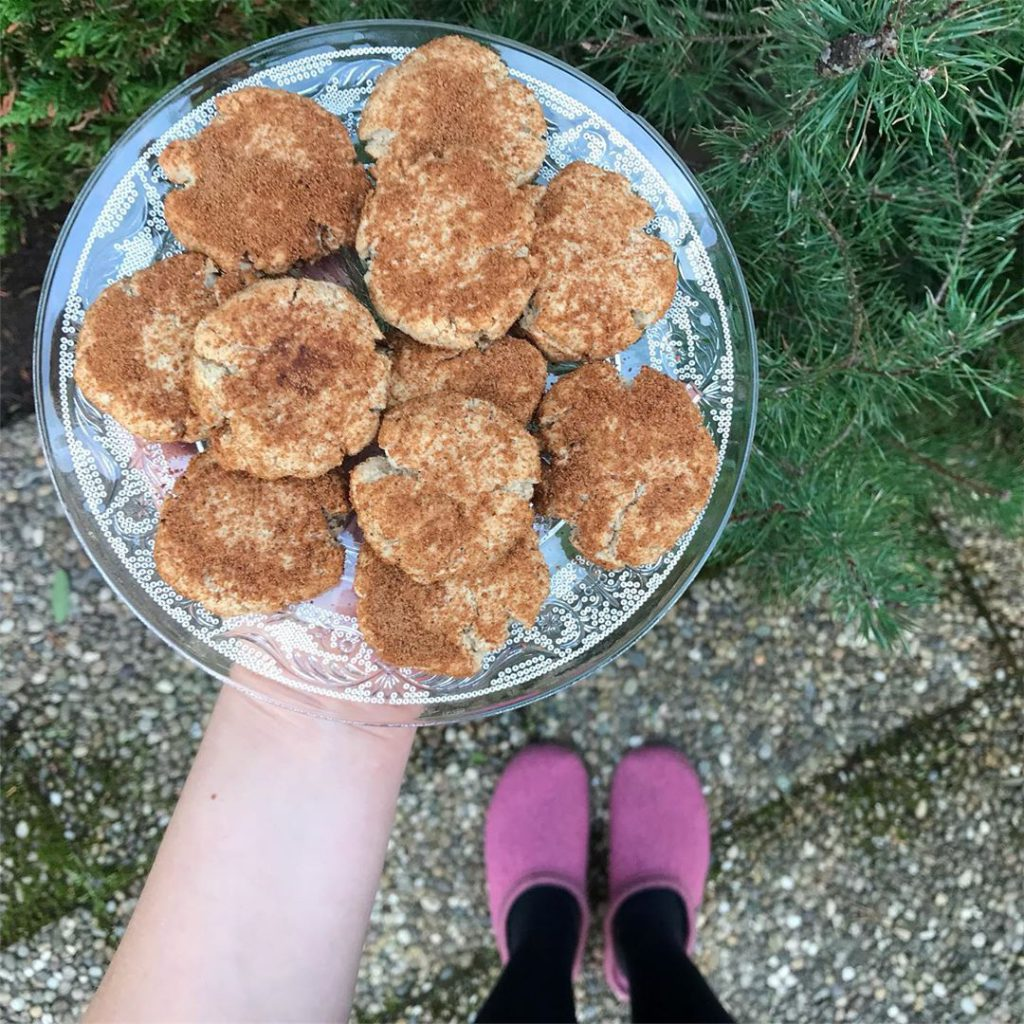 Bild zu Snickerdoodle Cookies von Medical Medium - Zimtplätzchen